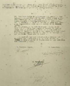 1948. Contrato Cristo