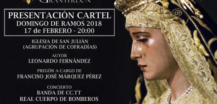 Presentación del Cartel anunciador del Domingo de Ramos 2018