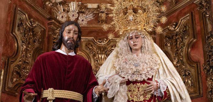Reportaje fotográfico – Nuestros Sagrados Titulares ataviados para la festividad de la Candelaria