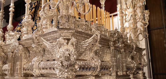 Reportaje Fotográfico   Reforma y ampliación del trono de Mª Stma. del Gran Perdón