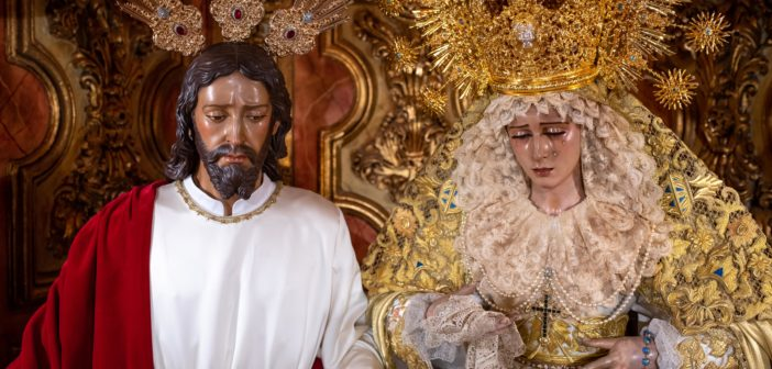 Reportaje Fotográfico – Nuestros Sagrados Titulares durante la reapertura de la Parroquia de la Divina Pastora