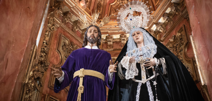 Reportaje Fotográfico – Nuestros Sagrados Titulares ataviados para la festividad de los Santos Difuntos